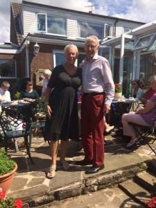 Our hosts Beryl & Chris